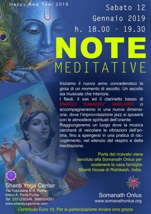 Note meditative