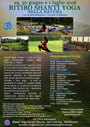 Ritiro yoga nella natura One